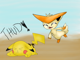 Collab with PokemonBWishesCilan by RayquazaQueen