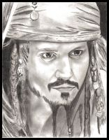 Captain Jack Sparrow by Fring