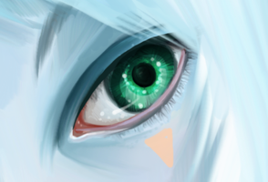 Green Eye by Elentori