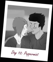 12 Days of Bluepulse: Day 10 Peppermint by Ansi-chan
