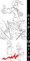 Ace Attorney Pokemon AJ Edition Epi2 storyboard by Marini4