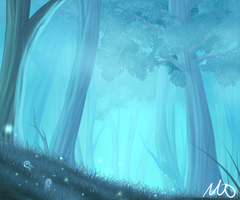 Magic forest by Tori001