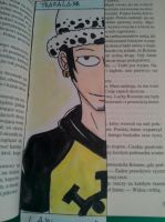 OP: Trafalgar Law- bookmark by kolia29