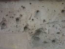 Bullet holes by Psychographer16