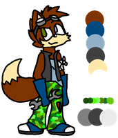 CLOSED! Single Sonic char adoptable by Honey-PawStep