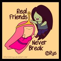 Real Friends Never Break by ErikReys