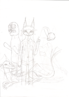 LPAdventures: LPS100 in SCP: CB Comic cover WIP by LPS100
