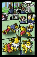 SoG: 135 Jolteon Female by MistressMissingno