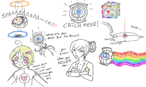 Fun with Aperture Science by Piia-Star