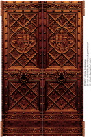 Ornate Door by Lill-stock