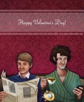 Happy Valentines from 221B by neomeruru
