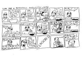 A Pointlessly Disgusting Comic by BlackMagnumFilms