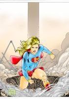 Super girl colorido by RicardoDias27