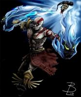 He is the God of War. by damefine