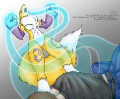 Soul Files - Renamon - by ForcesWerwolf