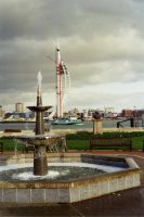 Spinnaker and Fountain by WendyW