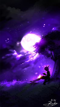 The Full Moon by ryky
