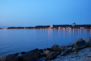 Lights of the small town by Dorian-Gray7