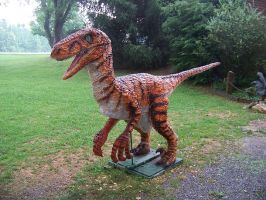 Jurassic Park Velociraptor LS by Blade-of-the-Moon