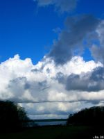 clouds over denmark by Seyreene