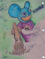 Deadmau5 and Another F------ Squid by BPriceOnPluto