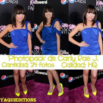 photopack de carly rae j. by YaquiEditions