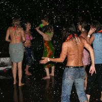 Wet Night Party by renoiro