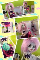 Monster High Custom Azucar Calaveras Skeleton CAM by mermaid-splash