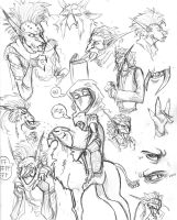 Sketchdump by ClockworkPriest