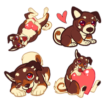 Seikenku Valentine Tags by rasenth