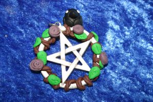 Customized Pentagram Charm by LoekazCharms