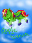 Commission: Apple Green by SynSutakira