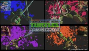 2012 TMNT Wallpaper by DeathGoddess1995