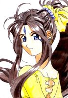 Belldandy in color by xievelynix