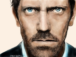 House (Hugh Laurie) by acostamt