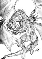 Bahamut - King of Dragons by AegisKHAOS