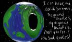 The Screaming Earth by TheBlueNavi