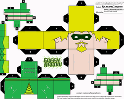 Green Arrow Cubeecraft by RatedrCarlos