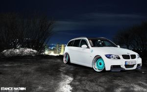 BMW - 3Series Stanced by K-KKZ