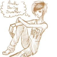 another boring summer by Livawhatever
