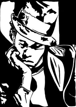 Tom Waits 2 by queen-ink