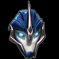 Arcee Prime Head2 by Laserbot