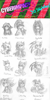 Christmas Sketch Batch 2012 by Divert-S