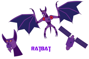 Transformers Neo - RATBAT by Daizua123