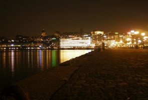 Night over Stockholm by paully93