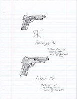 Pistol Designs by Arsanthania