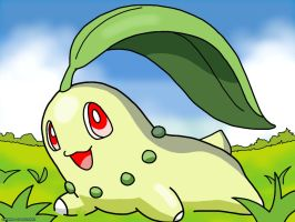 Chikorita by HollowRiku