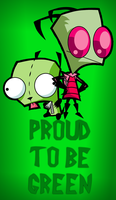 Proud to Be Green by InvaderSponge