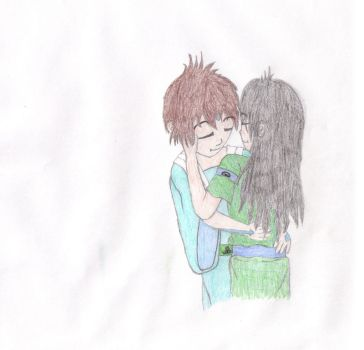 Taang embrace colored by PreseaGrrL