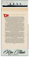 On Board RMS Titanic- Journal Skin by RMS-OLYMPIC